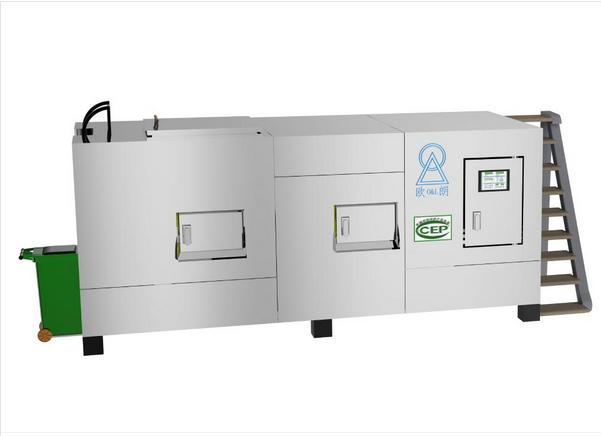 餐饮垃圾生化处理设备:餐饮垃圾生化处理前的预处理工作